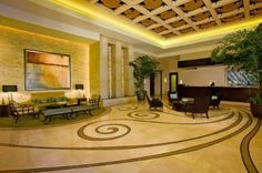 "Hotel Luxury Suites At The Signature At Mgm Grand Las Vegas and soon to be one of our ""Homes"" Can't imagine this lobby being ""Home"" I can't WAIT!!!!"