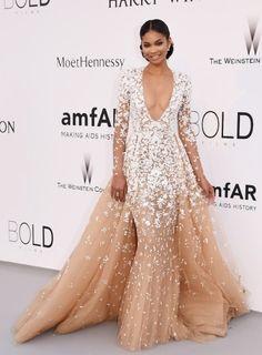 Chanel Iman - amfAR Gala 2015 Cannes - Party's - People