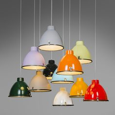 Anteros 38 Pendant light  in Yellow