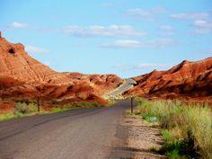 Capital Reef Scenic Road. Utah