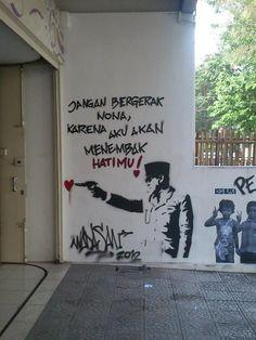Grafiti Bung Karno keren....