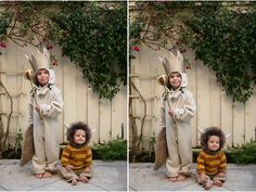 Max & Moishe - wild things costume