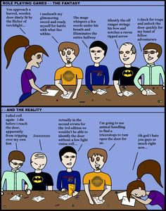 Comic 4 – Dungeons and Dragons   Black Arrow Workshop