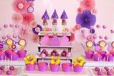 Tangled Rapunzel Inspired Birthday Party