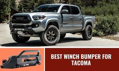 Factory bumpers easily get damaged when the vehicle hits something. The marks make the truck look unattractive. People are resorting to aftermarket bumpers Off Road Bumpers, Winch Bumpers, Winch Accessories, Tacoma Truck, Basic Hand Tools, Screws And Bolts, Toyota Tacoma, Trucks, Vehicles