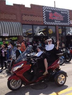 The Riding Nuns - Daytona Florida - Bike Week! #floridamotorcycleattorney