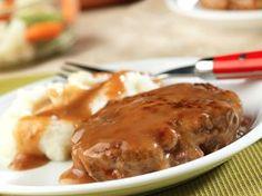 Weeknight Salisbury Steak | RecipeLion.com