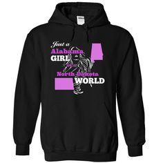 Alabama Girl in North Dakota World T-Shirts Hoodies Sunfroghttps://www.sunfrog.com/States/Alabama-Girl-in-North-Dakota-World-9552-Black-49931960-Hoodie.html?81633
