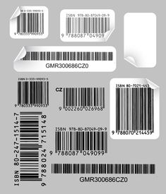 Creative And Practical Bar Code Label Vector 1 Clip Art Graphic Design Posters, Graphic Design Inspiration, Graphic Art, Ep Logo, Layout Design, Web Design, Abstract Illustration, Barcode Labels, Qr Barcode