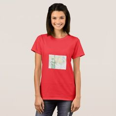 Market place woman T-Shirt - red gifts color style cyo diy personalize unique