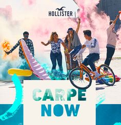 Seize this.    Carpe now.   View on Web Browser  This email is not endorsed or sponsored by any third-party social media sites. All social media logos and trademarks displayed in this email are property of their respective owners.  To ensure delivery to your inbox add Hollister@e.hollisterco.com to your address book.  This is a product offering from Hollister Co. You have received this email since you submitted your email address to our list of subscribers To unsubscribe please click here…