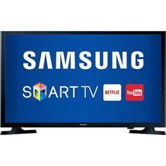 """Smart TV LED 32"""" Samsung 32J4300 com Conversor Digital 2 HDMI 1 USB Wi-Fi Integrado"""