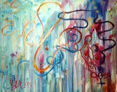 Cruce de caminos, óleo sobre lienzo 100x80