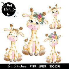 Baby Animal Drawings, Cute Drawings, Printable Animals, Printable Animal Pictures, Safari Animals, Cute Baby Animals, Cute Animal Clipart, Animal Coloring Pages, African American Art