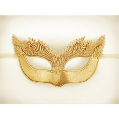 Pure Gold Lace Masquerade Mask With Brocade Fabric - Venetian Style... ($60) ❤ liked on Polyvore featuring costumes, masks, accessories, party costumes, ladies halloween costumes, prom halloween costumes, ball costume and prom costumes