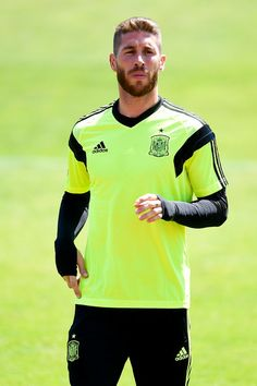 Sergio Ramos - Spain Training Session #footballislife
