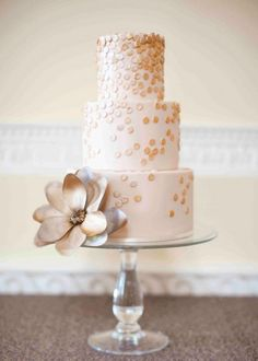 another gold idea for cake