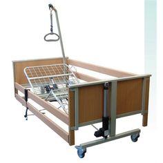 Pat electric cu suprafata de sedere impartita in 4 parti  http://ortopedix.ro/pat-pentru-ingrijire-acasa/939-l4-pat-electric.html
