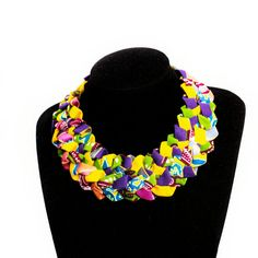 African Print Jewelry Ankara by AfrogenicCollections on Etsy