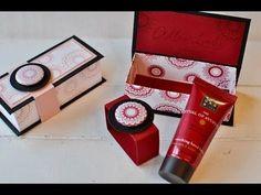 Tutorial: Rituals Handcreme elegant verpacken mit Stampin' Up! - YouTube