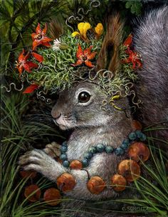 Incredible! I'd love to have this lady illustrate AAST Carolyn Schmitz