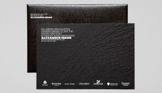 Alexander Wang F/W 2009 texture emboss li inc Invitation Flyer, Invitation Card Design, Invitations, Fashion Show Invitation, Fashion Identity, Printing And Binding, Brochure Layout, Card Envelopes, Graphic Design Branding