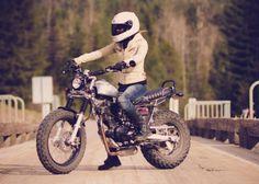 Deus inspired Yamaha TW200 cafe racer scrambler | street, cruisers, choppers | Nelson | Kijiji