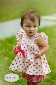 Baby Picnic Two-Piece Summer Set - Kinder Kouture Boutique Clothing - 1