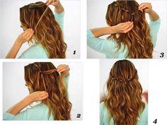 Elionora Otacilio: Três tipos de penteados para ir a escola ou faculdade.