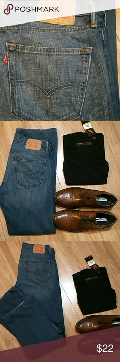 Levi's 527 jeans size 34 x 32 Levi's  527 slim boot cut jeans Levi's Jeans Bootcut
