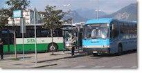Amalfi Sorrento Positano Meta Italy Public transportation by Sita bus