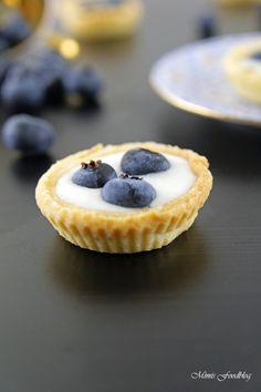 Mini Heidelbeer-Joghurt-Küchlein ~ der fruchtig, frische Sommernachtisch - Mimis Foodblog