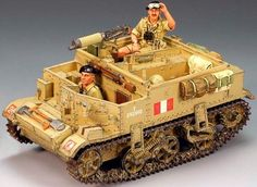 World War II British Army EA041 Universal Carrier set - Made by King and Country Military Miniatures and Models. Factory made, hand assembled, painted and boxed in a padded decorative box. Excellent gift for the enthusiast.