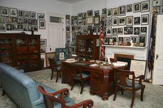 Senator Allen Ellender's Washington D.C. Office, recreated in the Southdown Museum in Houma, Louisiana