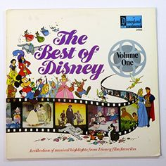 The Best of Disney, Vol. A Collection of Musical Highlights From Disney Film Favorites Disney Records, Disney Music, Vinyl Music, Lp Vinyl, Make Mine Music, Mickey And Friends, My Collection, Record Collection, Vintage Disney