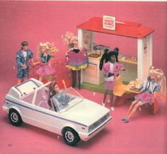 jazzie teen cousin of barbie dolls, burger king playset, and volkswagon cabrolet