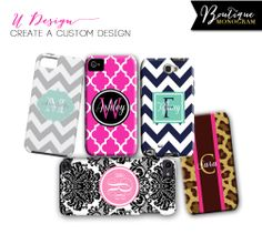 Boutique Monogram Gifts monogrammed phone case