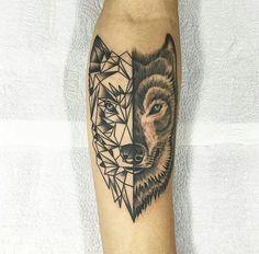 Wolf Tattoo/ Tatuagem Lobo