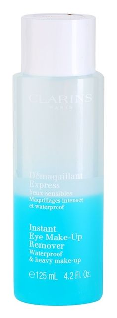 Otin käyttöön Clarins Démaquilant Express Yeux sensibles Maquillages intenses et waterproof. Instant Eye Make-up Remover, Waterproof & heavy make-up. Palaan myöhemmin käyttökokemuksin.
