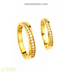 New Arrivals - Latest gold and diamond jewelry collection - Totaram Jewelers Online Diamond Bangle, Diamond Jewelry, Gold Jewelry, Engagement Rings Couple, Gold Rings, Gemstone Rings, Gold Ring Designs, Temple Jewellery, Wedding Ring Bands