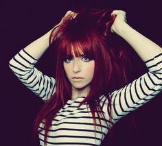 red violet hair color7