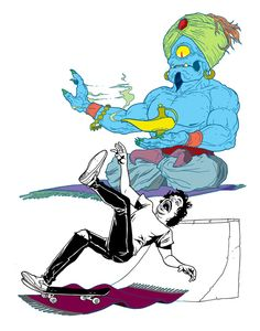 Thrasher Magazine: Slam Demons