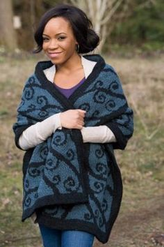 Wrought Iron Shawl - Knitting Patterns by Jodie Gordon Lucas
