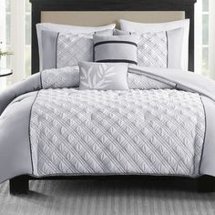 Found it at Wayfair - Joyce 5 Piece Comforter Set