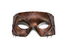 Rafe Bronze Mesh Hand-Painted Men's Masquerade by SuccessCreations