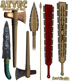 Aztec day signs | Which ancient Aztec weapon would you want to take into battle? Find ...