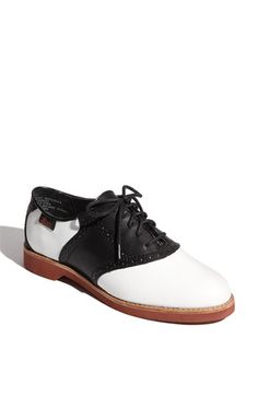 Bass 'Enfield' Oxford (Women)   Nordstrom (Saddle shoes!)
