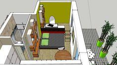 Studio de jardin bureau de jardin dependance de maison for Agencement jardin 3d