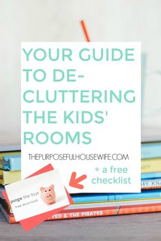 Wanna purge the toys, but not sure where to start? Click here to get the  FREE step-by-step guide right in your inbox!  Having kids means messes, and lots of them. But wouldn't it be freeing if  it was funmesses instead of the same old crap strewn everywhere day in and  day out? What if the only toys in the kids' room were ones that encourage  their imaginations and bring about constructive play? What if their rooms  were clean and clutter-free so they could actually play in there? What if…