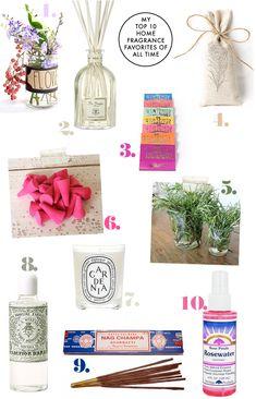 My Top 10 Home Fragrance Favorites of all Time | Justina Blakeney Est. 1979